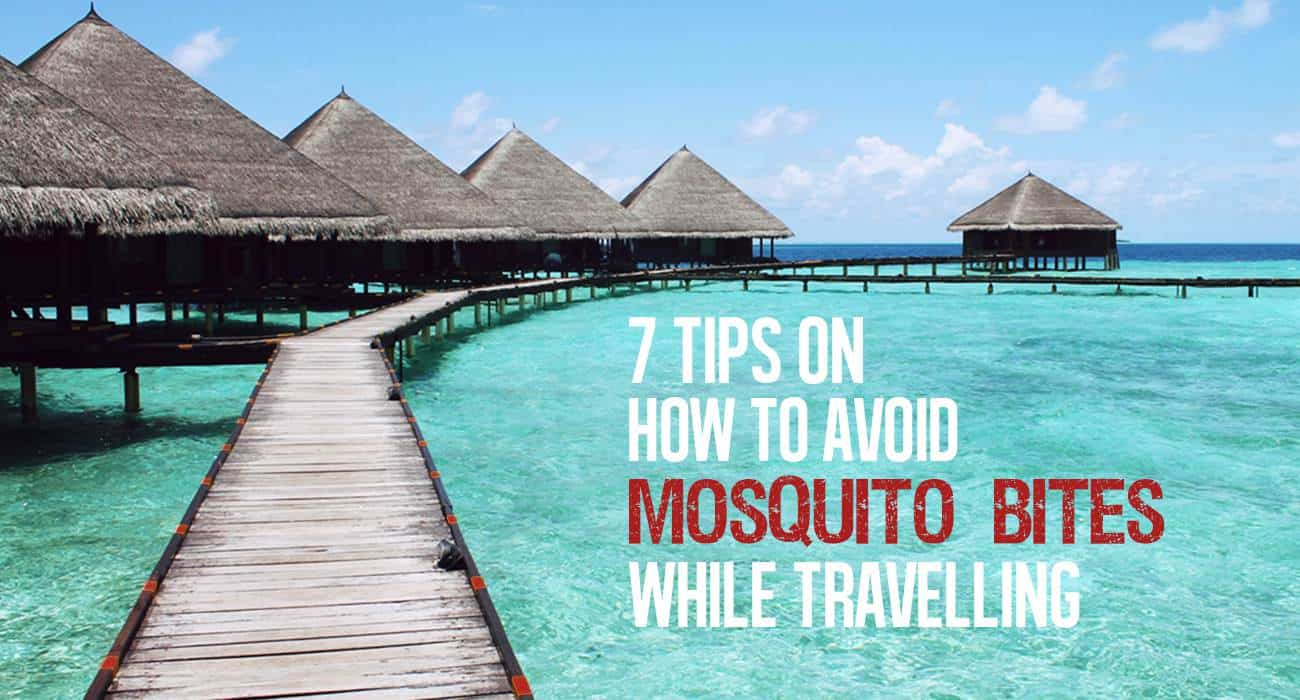 avoid mosquitoes when staying outdoors
