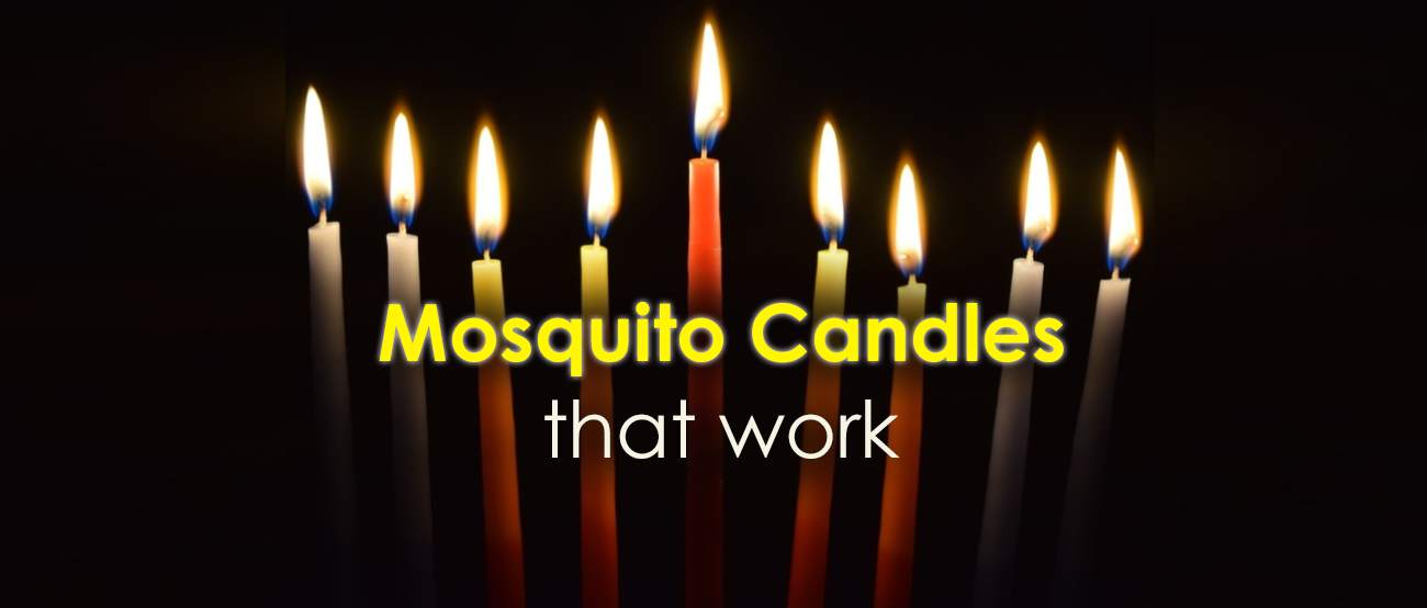 The best candles against mosquitoes.